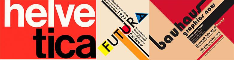 tipografías djseño gráfico